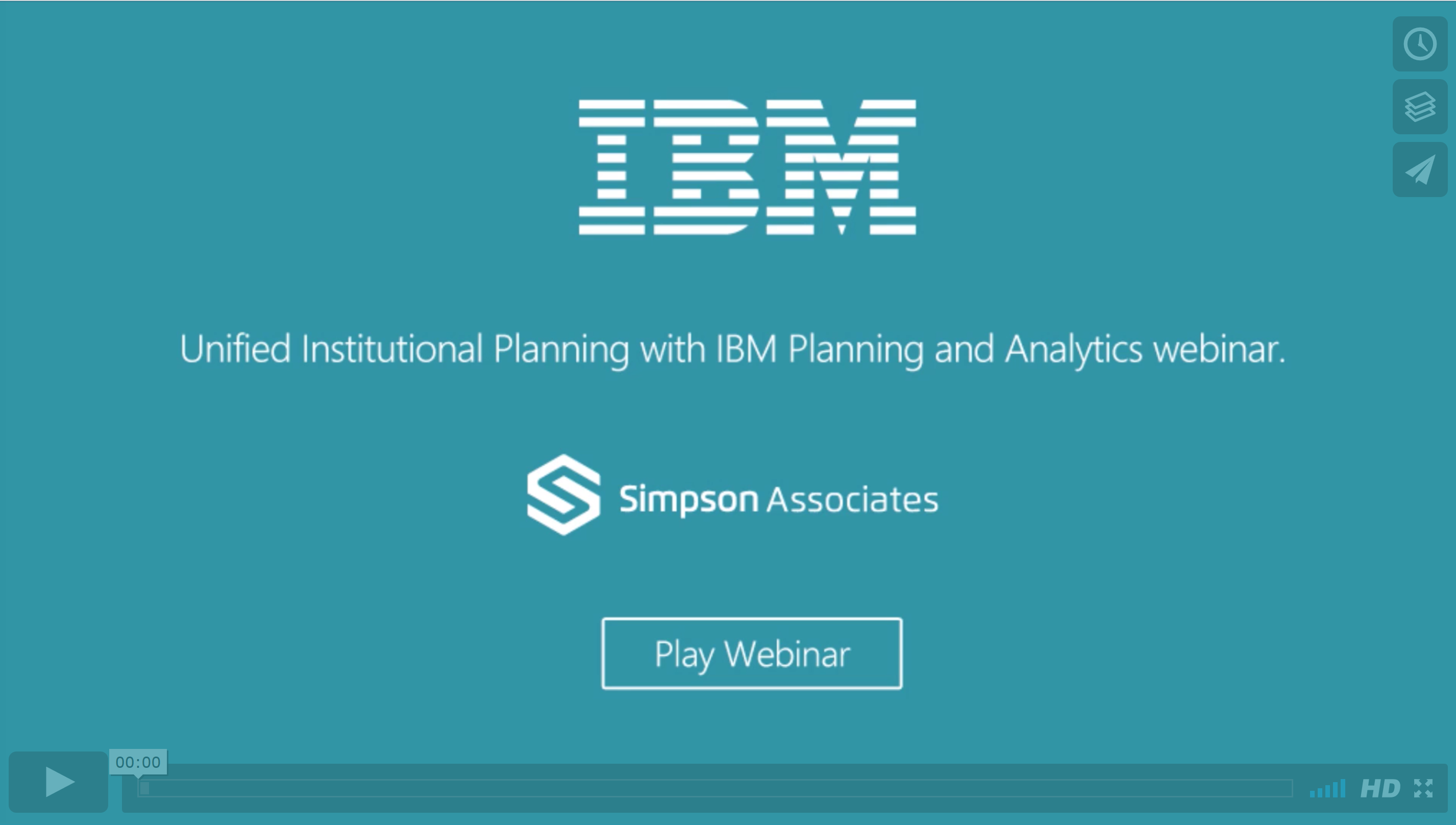 Unified Institutional Planning with IBM Planning & Analytics