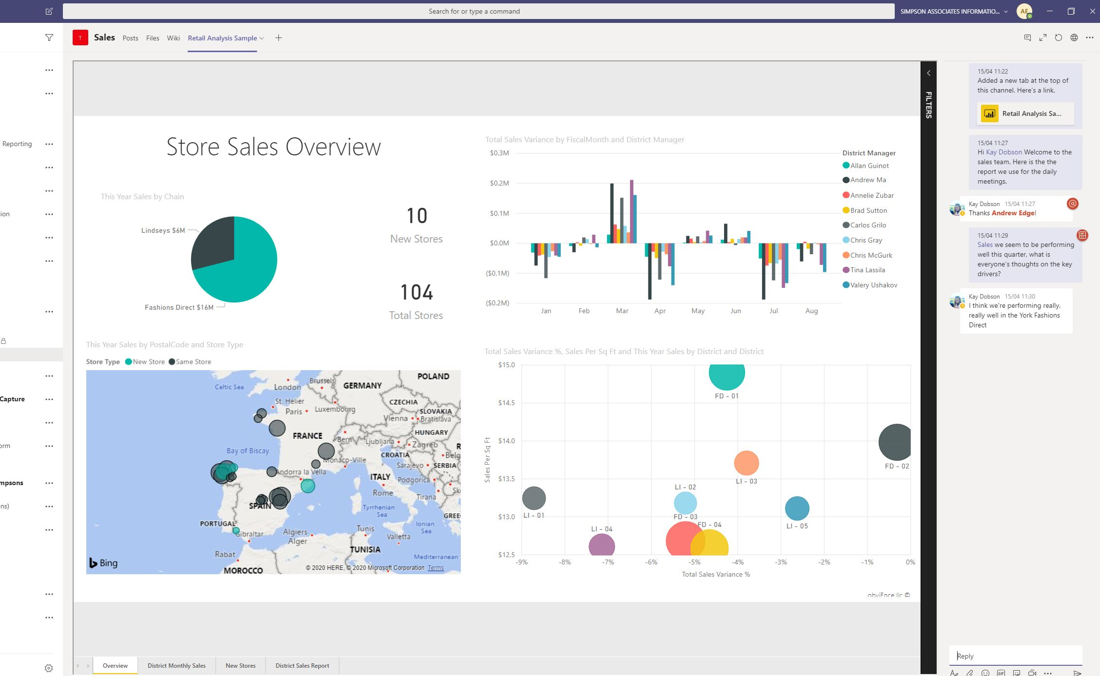 Power BI and Teams – The best of both worlds