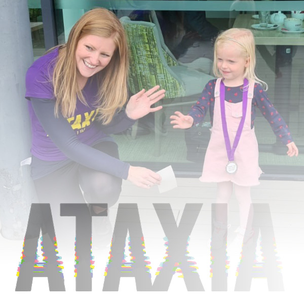 We're supporting Ataxia UK