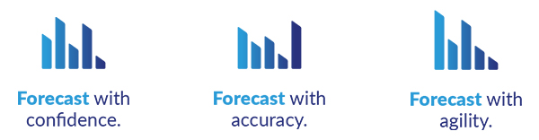 Forecast with confidence. Forecast with accuracy. Forecast with agility.