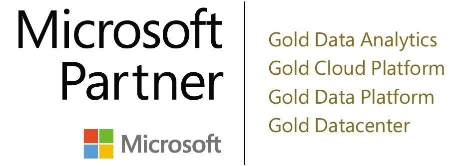 Microsoft Partner Quadruple Gold logo