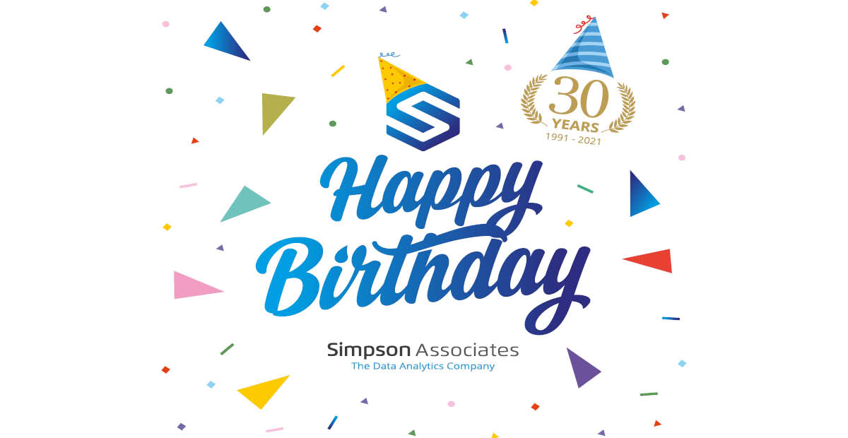 Celebrating 30 years of being Data Experts!