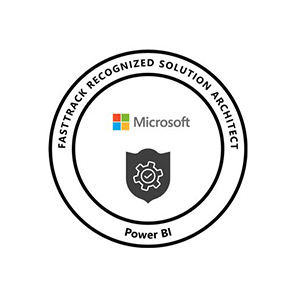 Principal Consultant, William Rathbone achieves 'Fastrack Recognised Solution Architect Status for Power BI' from Microsoft Power Platform