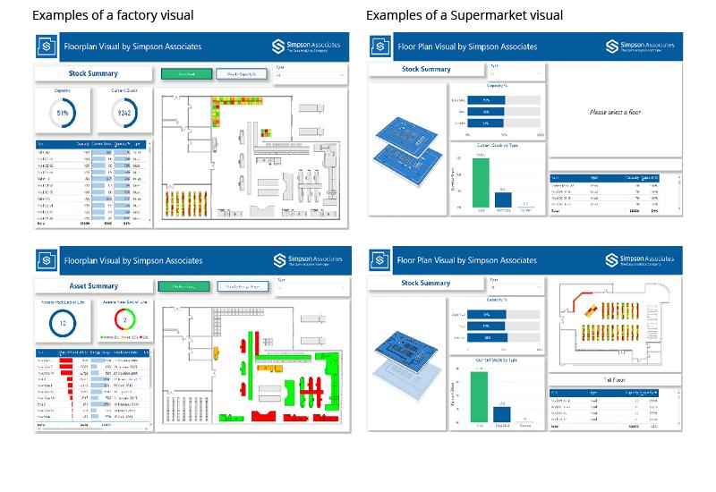 Simpson Associates Launch Power BI Floor Plan Visual